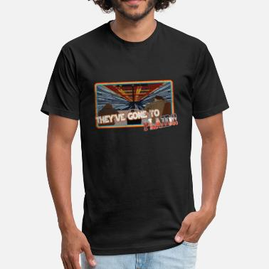 Spaceballs Ludicrous Speed...GO!!! - Fitted Cotton/Poly T-Shirt by Next Level