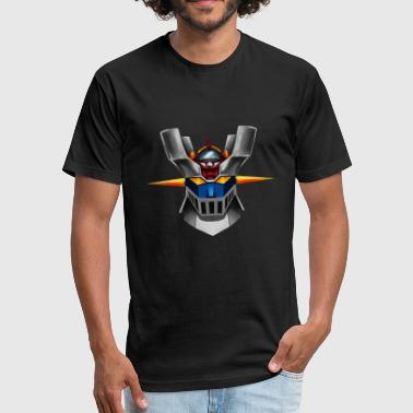 Mazinger Z MAZINGER Z - Fitted Cotton/Poly T-Shirt by Next Level