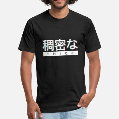 Japanese Aesthetics Aesthetic Japanese - Fitted Cotton/Poly T-Shirt by Next Level
