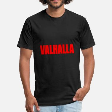 Valhalla & VALHALLA - Fitted Cotton/Poly T-Shirt by Next Level