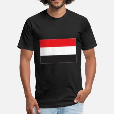 Proud Yemen Yemen flag - Fitted Cotton/Poly T-Shirt by Next Level
