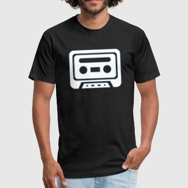 Retro Tape Tape - Retro - Fitted Cotton/Poly T-Shirt by Next Level
