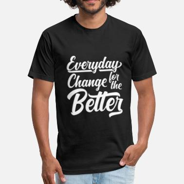 Positive Vibes Clothing E.C.B 2 - Fitted Cotton/Poly T-Shirt by Next Level