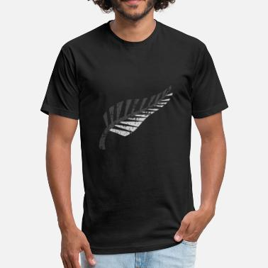 Auckland Maori aussies kiwi - Fitted Cotton/Poly T-Shirt by Next Level