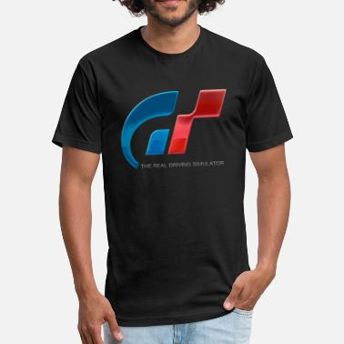 Gran Turismo Driving Simulator - Fitted Cotton/Poly T-Shirt by Next Level