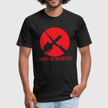 Army Of Darkness - Fitted Cotton/Poly T-Shirt by Next Level