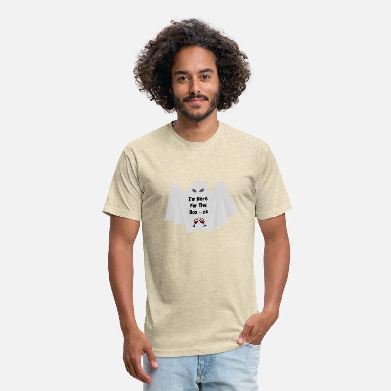 8ae7fab01 Halloween Ghost with Funny Saying Unisex Poly Cotton T-Shirt | Spreadshirt