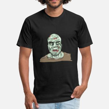 I Am A Hunter I am a zombie - Fitted Cotton/Poly T-Shirt by Next Level