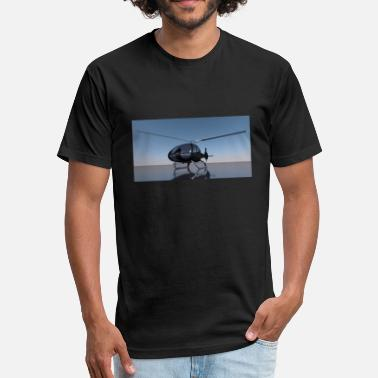 Helicopters helicopter - Unisex Poly Cotton T-Shirt