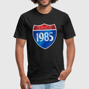 Since 1985 Since 1985 - Fitted Cotton/Poly T-Shirt by Next Level