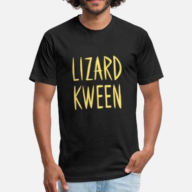 54d8ef2d306 Lizards Quote Lizard Kween T Shirt - Unisex Poly Cotton T-Shirt