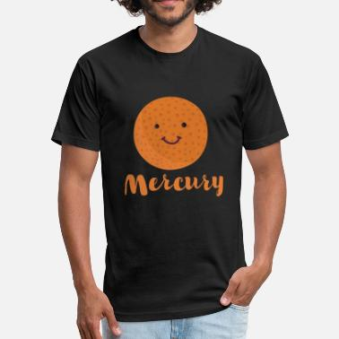 Planet Mercury Cartoon Planet Mercury - Fitted Cotton/Poly T-Shirt by Next Level
