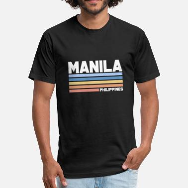 Pinoy Philippines Filipino Philippine Filipino Philippines Pinoy Manila Gift - Fitted Cotton/Poly T-Shirt by Next Level