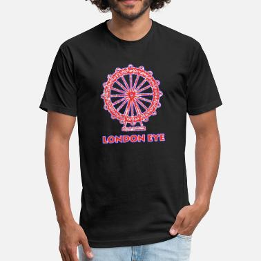 London Eye London Eye - Fitted Cotton/Poly T-Shirt by Next Level