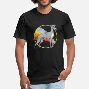 Greyhound Greyhound - Fitted Cotton/Poly T-Shirt by Next Level