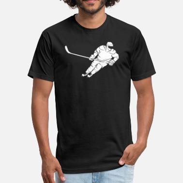 Highperformance Sport Hockey - Fitted Cotton/Poly T-Shirt by Next Level