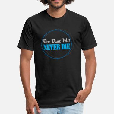 The Beat Will Never DIe - Unisex Poly Cotton T-Shirt