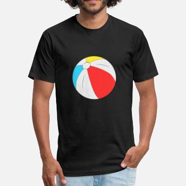 Beach Ball Beach Ball - Fitted Cotton/Poly T-Shirt by Next Level