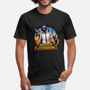 Playerunknowns Playerunknowns battlegrounds t-shirts and clothing - Fitted Cotton/Poly T-Shirt by Next Level