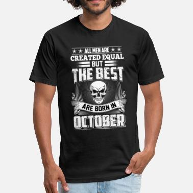 October Man October Man - Fitted Cotton/Poly T-Shirt by Next Level
