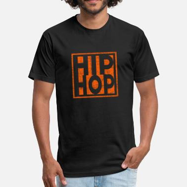 Christmas Hip Hop Hip Hop - Fitted Cotton/Poly T-Shirt by Next Level