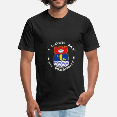 Paolo Duterte 003 wh - Fitted Cotton/Poly T-Shirt by Next Level