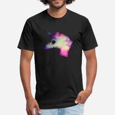 Psycho Unicorn psycho unicorn - Fitted Cotton/Poly T-Shirt by Next Level