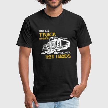 A Truck Driver Truck Driver - Truck Driver And Hoodie - Fitted Cotton/Poly T-Shirt by Next Level