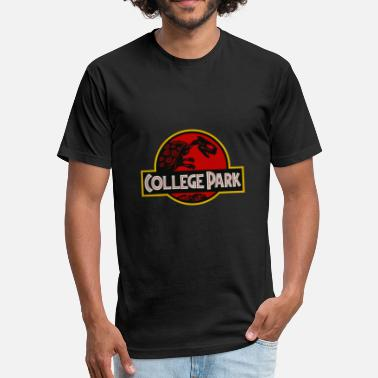 College Park Maryland - Fitted Cotton/Poly T-Shirt by Next Level