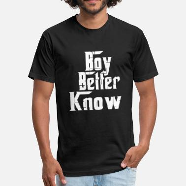 Boy Better Know Boy Better Know - Fitted Cotton/Poly T-Shirt by Next Level