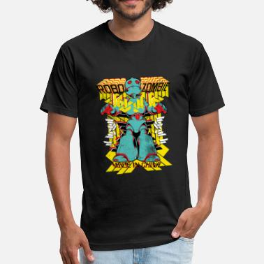 Flatbush Zombie - Robo Zombie - Fitted Cotton/Poly T-Shirt by Next Level