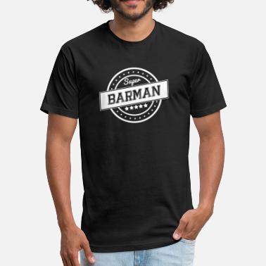 Barman Super barman - Fitted Cotton/Poly T-Shirt by Next Level
