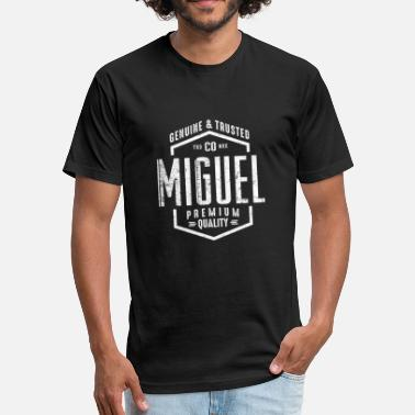 Miguel Ángel MIGUEL - Fitted Cotton/Poly T-Shirt by Next Level