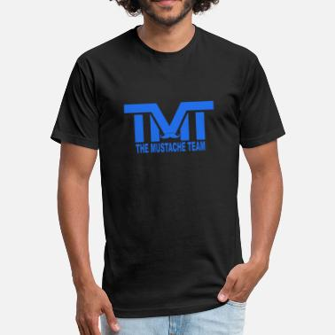 Tmt The Money Team TMT The Mustache Team - Fitted Cotton/Poly T-Shirt by Next Level