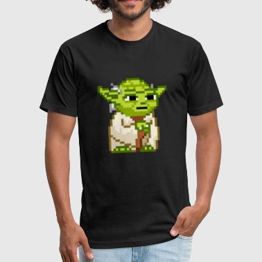 A Jedi Jedi - Fitted Cotton/Poly T-Shirt by Next Level
