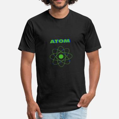 ATOM - Fitted Cotton/Poly T-Shirt by Next Level