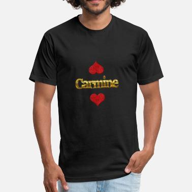 Carmine Carmine - Fitted Cotton/Poly T-Shirt by Next Level