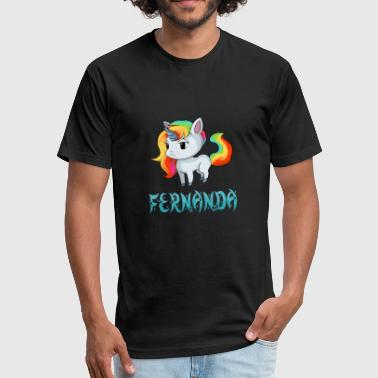 Fernanda Unicorn - Fitted Cotton/Poly T-Shirt by Next Level