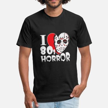 The Rocky Horror Picture Show Horror - i love 80s horror movies hq - Fitted Cotton/Poly T-Shirt by Next Level