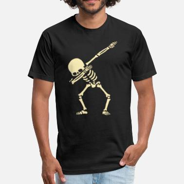 Kids Skeleton Skeleton - Fitted Cotton/Poly T-Shirt by Next Level