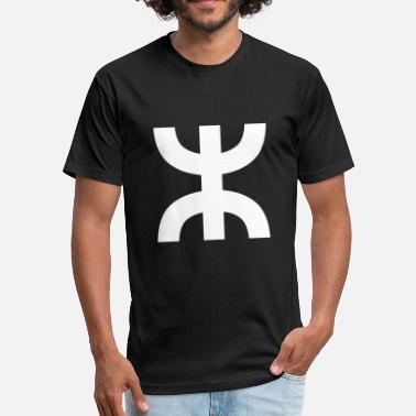 Amazigh Aza Amazigh T-Shirt - Fitted Cotton/Poly T-Shirt by Next Level