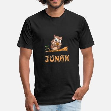 Jonah Jonah Owl - Fitted Cotton/Poly T-Shirt by Next Level