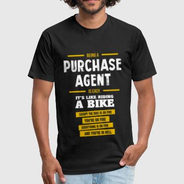 Purchasing Agent Purchase Agent - Fitted Cotton/Poly T-Shirt by Next Level
