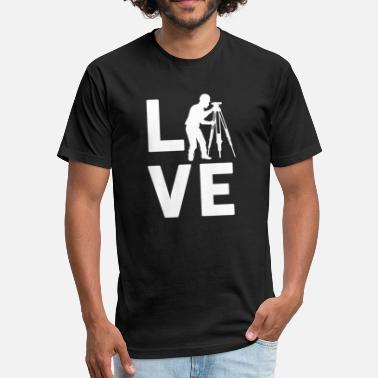 Engineering Love ENGINEERING LOVE - Graphic Shirt - Fitted Cotton/Poly T-Shirt by Next Level