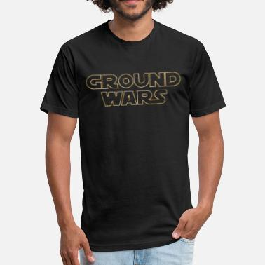 Mw2 ground wars - Fitted Cotton/Poly T-Shirt by Next Level