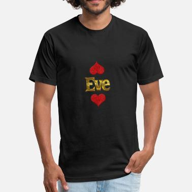 Ev Eve - Fitted Cotton/Poly T-Shirt by Next Level