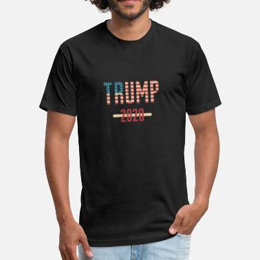 I Love Trump I Love Trump 2020 T-Shirt - Trump For President - Fitted Cotton/Poly T-Shirt by Next Level