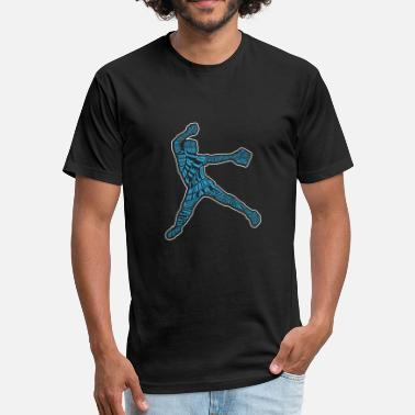 Pitcher Softball Softball Pitcher - Fitted Cotton/Poly T-Shirt by Next Level