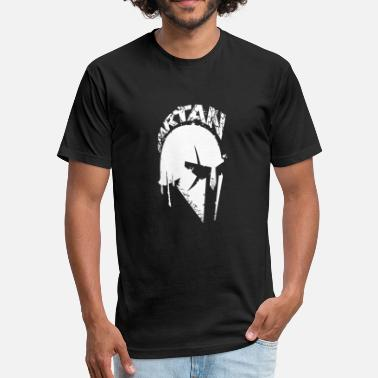 300 Spartan Spartan - Fitted Cotton/Poly T-Shirt by Next Level