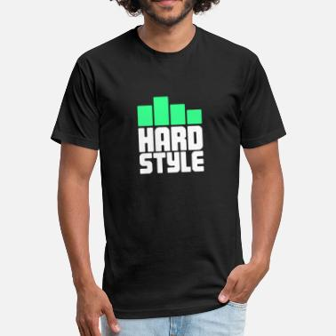Edm Producer Hardstyle Electronic Music Gift For EDM Raver - Fitted Cotton/Poly T-Shirt by Next Level